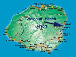 The LARGEST** ground floor Suite @ Wai & 3 BEDS 2 Queen 1King, Kapaa