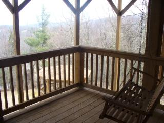 2K/1Q Suites-Custom Log Home-Huge Views-Private Setting Close BR-Boone-ParkWay