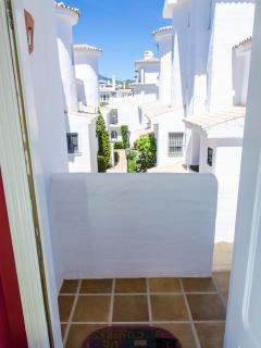 Vistas desde la entrada.