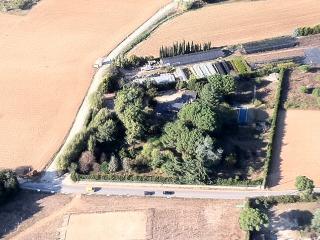 Villa Santiago aerial view
