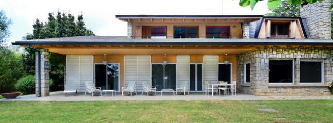 Villa Santiago porch view.