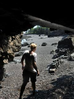 Devil's Oven, a cave on the Prowhouse property, is (indirectly) accessible.