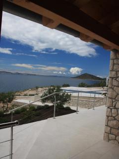 view towards islands Kosara, Dugi otok, Zut