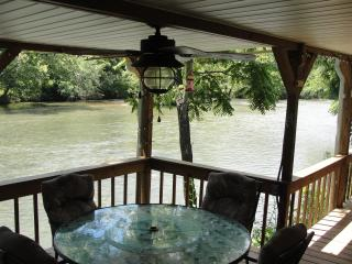 'Rivers Edge' Relax, Fish, innertube off your deck, Franklin