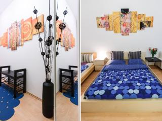 Quiet Apartment with Inner Garden View (3 Adults), Prague