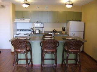 1910WB Ocean View Waikiki Suite 1 BDRM, Kitchen
