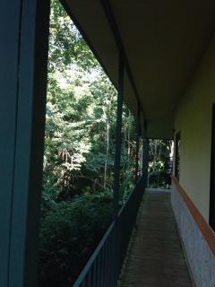 Beautiful teak deck