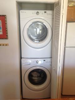 NEW Full size Duet Washer & Dryer! WOW!