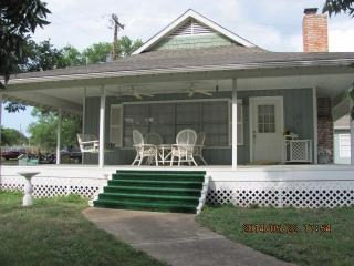 Front Porch Swing and Seating Area