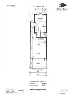 Detailed  Layout Plan of Apartment