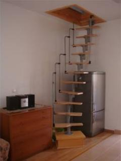 Staircase to 2nd floor room
