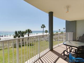 Long Beach 102 Bldg 2-Spectacular Resort-Gulf Front-1st Floor-Sleeps 4, Panama City Beach