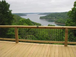 Cabins View and hot tub too. 2-8