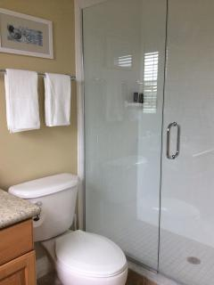 Bathrooms same for bedroom 2 and master