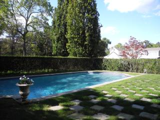 Secluded heated pool