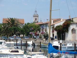 The port of Marseillan