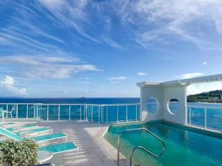 Lighthouse Penthouse 6B...spectacular views of both the ocean and marina, St Maarten, Oyster Pond