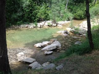 River and Pool at Can Benet