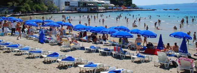 Bacvice beach, Split, 5 min walking distance