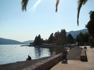 Apartment on the sea,great location!, Tivat