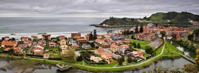 Vista del barrio de la playa, desde el sur hacia el norte