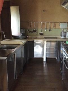 Cucina (zona fuochi, piano lavoro e lavello)
