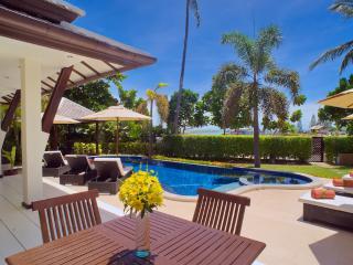 Villa 08 - Great Value Beach Front Villa with Pool, Plai Laem