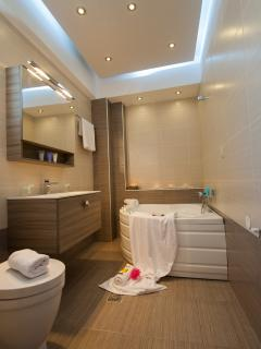 Main Bathroom-Jacuzzi tub
