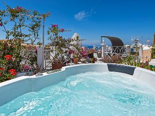 SUNSET TERRACE, ourdoor jacuzzi, panoramic Sunset!, Oia