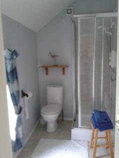 Shower room Struain Cottage