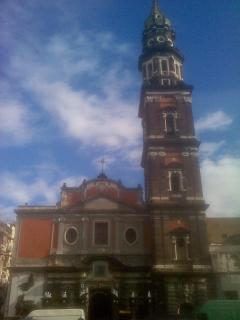 La Chiesa del Carmine a 600 metri da casa
