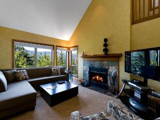 Painted Cliff 3 bdrm, ski-in, ski-out, luxury with serene mountain view, Whistler