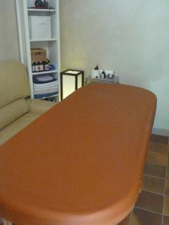 la table de massage (option)