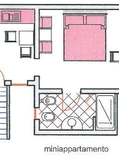 planimetria miniappartamento