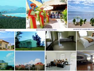 Family villa on private beach in 3* resort, Tuy Hoa
