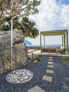 Garden Rock and Outdoor Shower