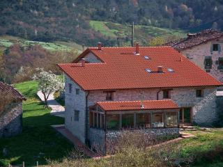 Zelaikoetxe,  house in the fields in Ayala Valley, Basque Country