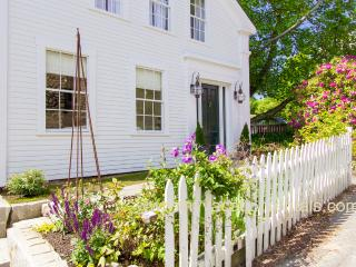 NORDE - Gracious Greek Revival, Newly Renovated with Gorgeous Decor, In Town Location, Short Walk from Ferry, Private Patio, Vineyard Haven