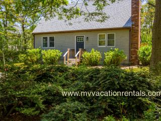 LECAY - Boutique Sweet with Designer Interior,  Large Screened Porch, AC all Bedrooms, 15 Minute Walk to Oak Bluffs Center and Inkwell Beach