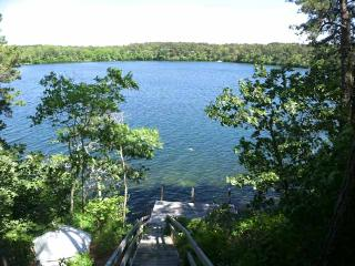 Directly on Sheep Pond with views & dock  -  BR0531
