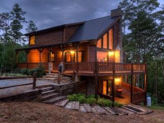 Luxury Vacation Cabin in Blue Ridge - Fox Hollow, Ellijay