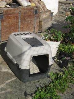 cassetta igienica coperta per micio
