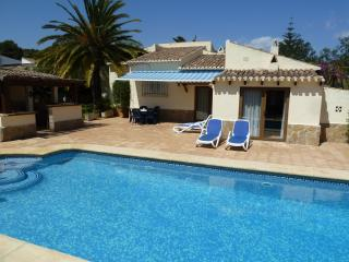 Private,secluded villa in tosalet, Javea