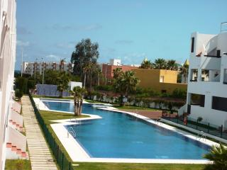 Swimming pool next to the apartment