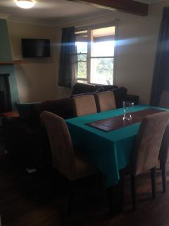 The private lounge / dining room.