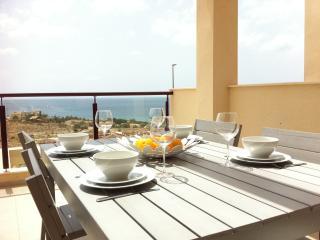 Isla Plana, vacker lägenhet med havsutsikt, Moratalla