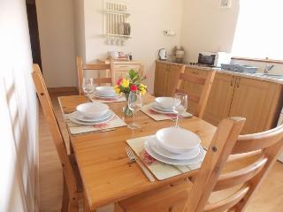 Dining for 4 and a high chair available