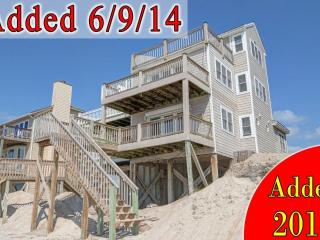 New River Inlet Rd 1234 | Direct Oceanfront | Jacuzzi Tub | Internet, North Topsail Beach