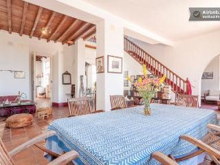 Amplísima habitación en Cortijo,  vistas al mar a 1 Km de la playa