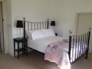 Double room with reading area and sea views